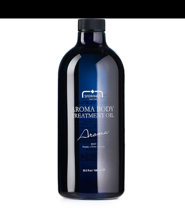 Расслабляющее массажное масло Aroma Body Treatment Oil 1000 мл