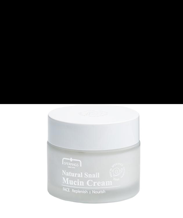 Крем с натуральным улиточным муцином Natural Snail Mucin Cream 50 мл