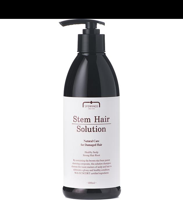 Лечебный шампунь, восстанавливающий рост волос Stem Restructuring Shampoo 400 мл