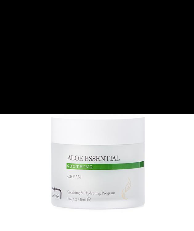 Успокаивающий крем с алоэ Aloe Essential Soothing Cream 50 мл (Тестер)
