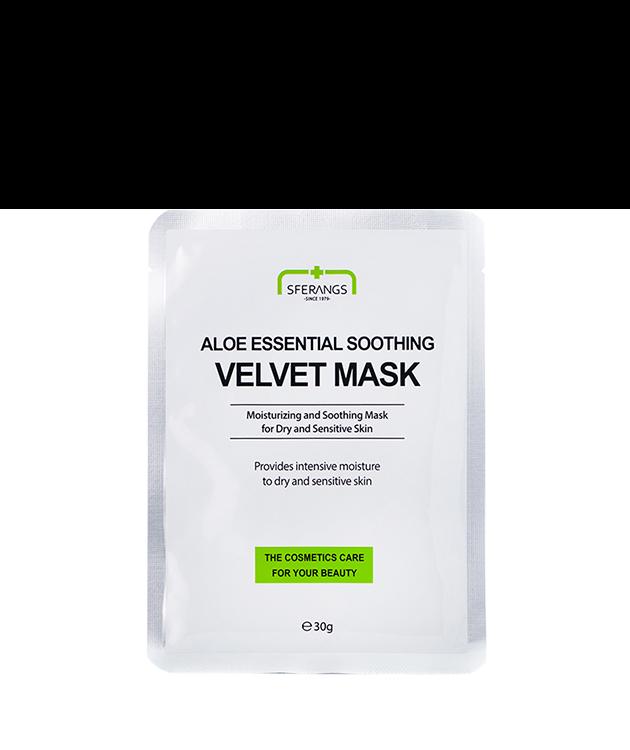 Увлажняющая тканевая маска Aloe Essential Soothing Velvet 30 гр
