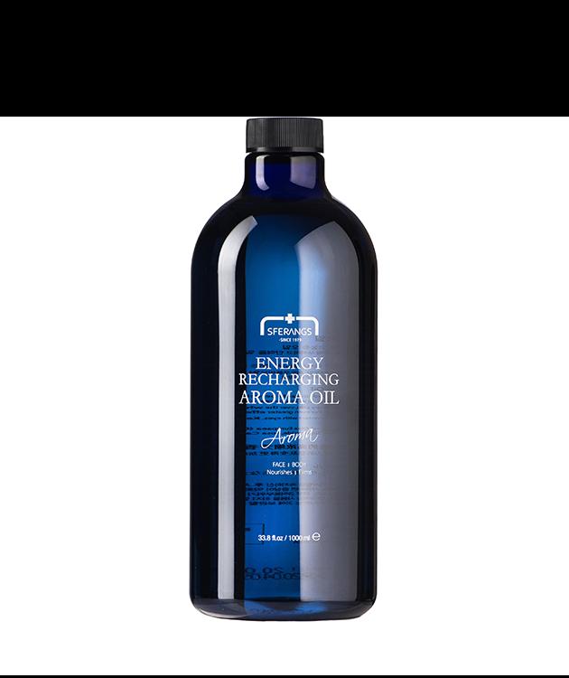 Массажное масло Energy Recharging Aroma Oil для придания энергии 1000 мл