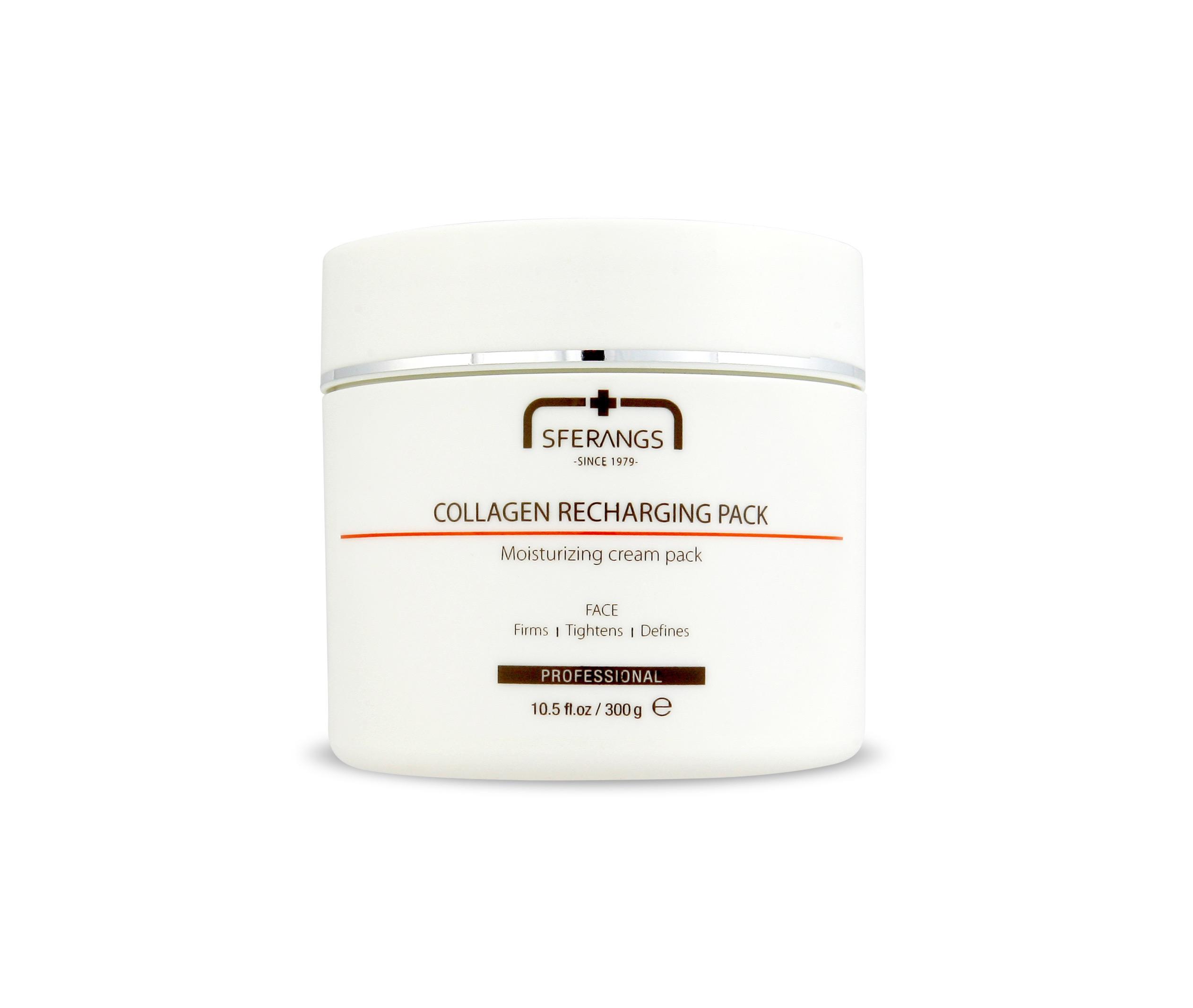 Крем-маска для восстановления синтеза коллагена Collagen Recharging Pack 300 гр